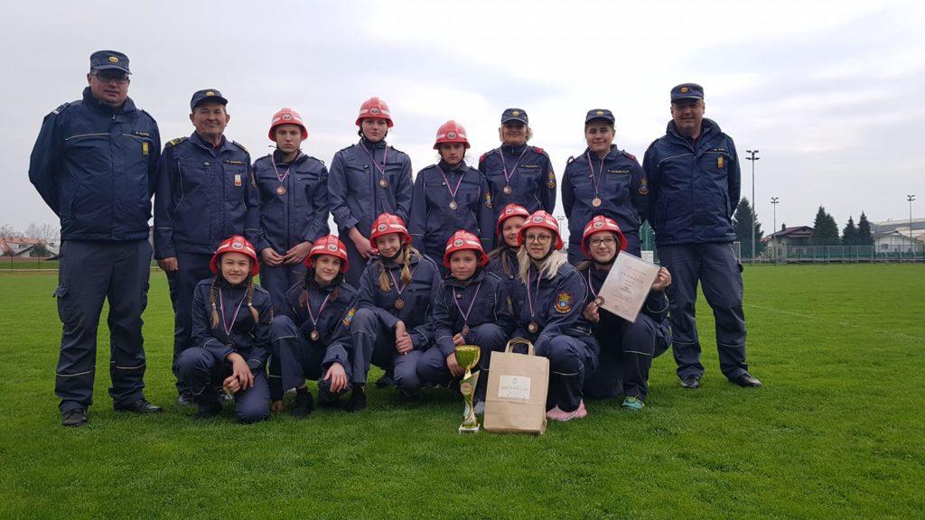 Izbirno tekmovanje za mladinsko gasilsko olimpijado