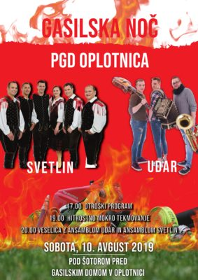 GASILSKA NOČ 2019 – PGD OPLOTNICA
