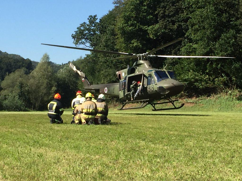 Izobraževanje: Usposabljanje za delo s helikopterjem